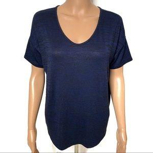 Rag & Bone Navy Vneck Tshirt